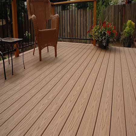 Wood Plastic Outdoor Terrace